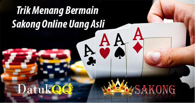 Trik Menang Bermain Sakong Online Uang Asli